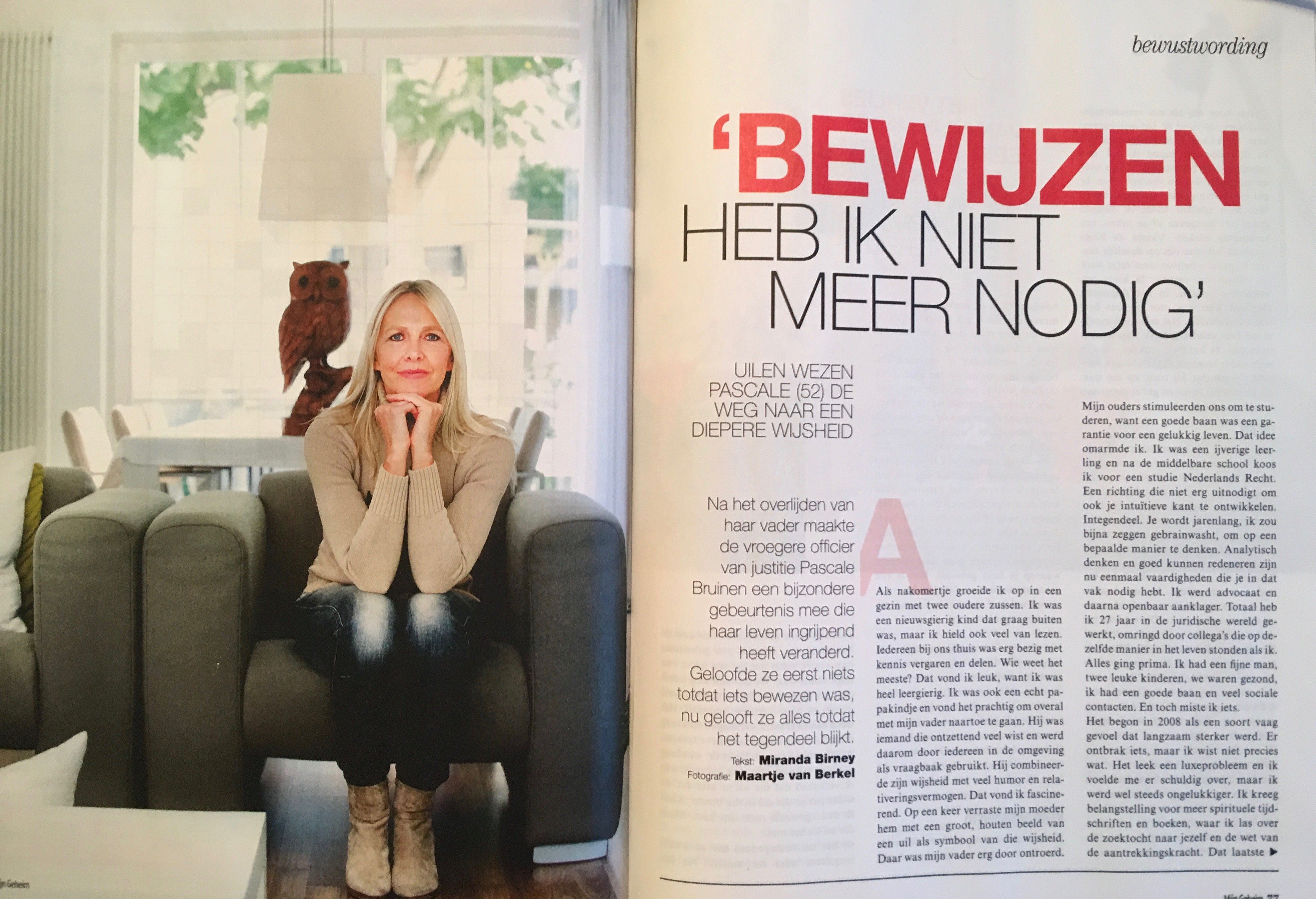 Newspapers and magazines - Pascale Bruinen